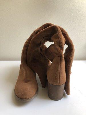 Lavorazione Artigiana Jackboots light brown-nude mixture fibre