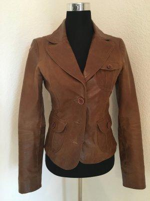 BlendShe Jacket cognac-coloured