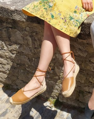 SOLUDOS Espadrille Sandals multicolored leather