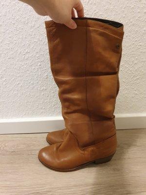 cognacfarbene Stiefel von TANGO