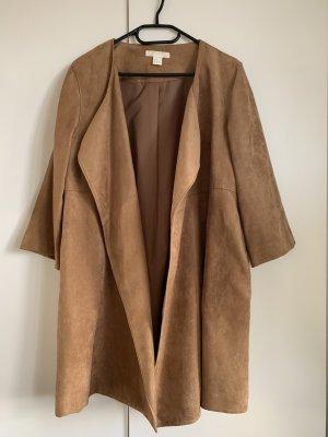 Cognacfarbener Mantel von H&M