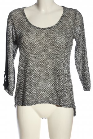 Coin 1804 Fine Knit Jumper black-white casual look