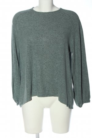 Coin 1804 Crewneck Sweater turquoise flecked casual look