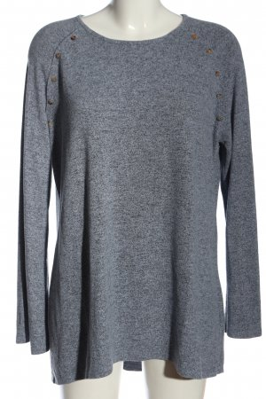Coin 1804 Knitted Jumper light grey flecked casual look