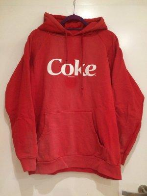 Coke Kapuzen Hoodie, rot, Gr. XL