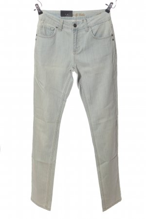Colac Collection High Waist Jeans hellgrau Casual-Look