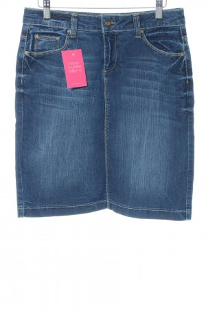 Colac Collection Jeansrock blau Casual-Look
