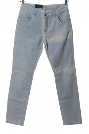 Colac Collection Straight-Leg Jeans hellgrau Casual-Look