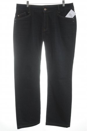 Colac Collection Straight-Leg Jeans dunkelblau Street-Fashion-Look