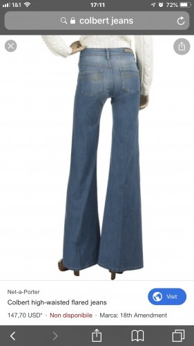 18th Amendment Jeans marlene blu acciaio-blu fiordaliso