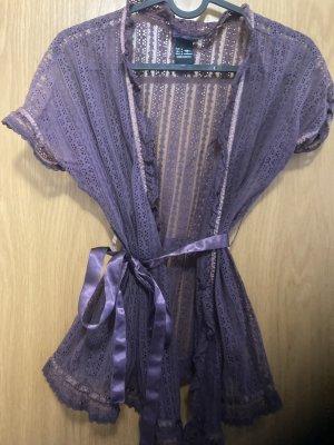 Colcci Kimono Blouse grey violet