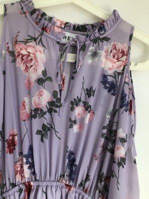 Ivyrevel Cut Out Dress purple-light pink