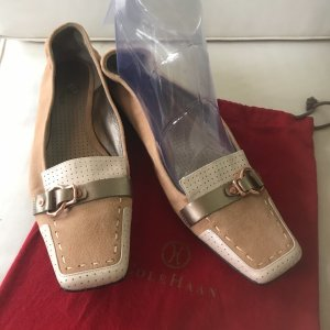 Cole Haan Damen Echt Leder Schuhe super Comfort mit Nike Air Sohle 39