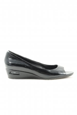 Cole Haan Patent Leather Ballerinas black casual look