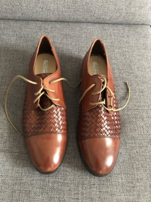 Cole Haan Oxfords cognac-coloured leather