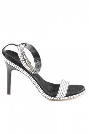 Cole Haan Strapped pumps white-black casual look