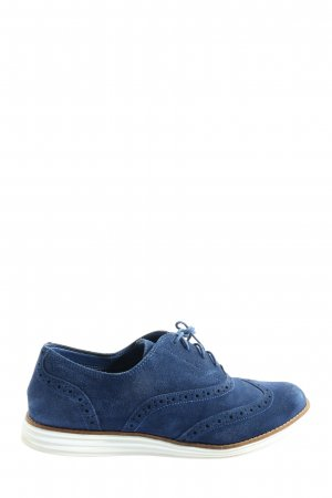 Cole Haan Lace Shoes blue casual look