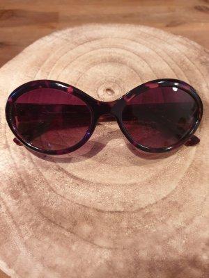 Cole Haan Oval Sunglasses brown-dark brown