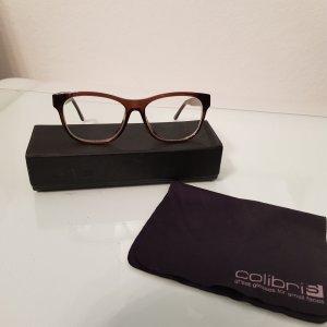 Colibri Brille Brillengestell Braun Hornoptik