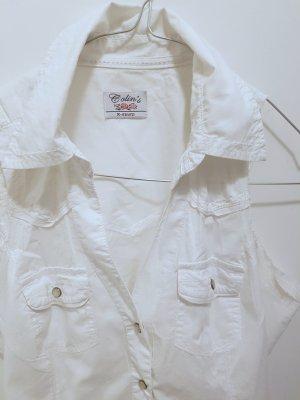 Colins Short Sleeved Blouse white