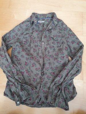 Colins Long Sleeve Shirt purple-khaki