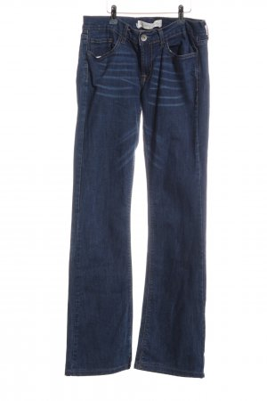 Colins Boot Cut Jeans blau Casual-Look