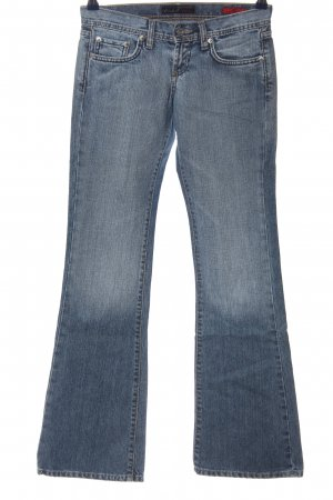 Colins Jeansschlaghose blau Casual-Look