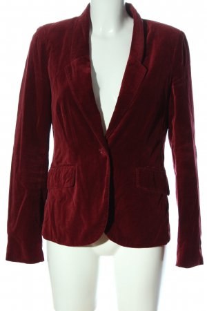 Colins Short Blazer red business style