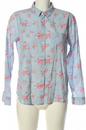 Colins Long Sleeve Shirt blue-pink allover print business style