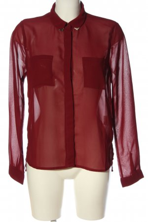 Colins Long Sleeve Shirt red casual look