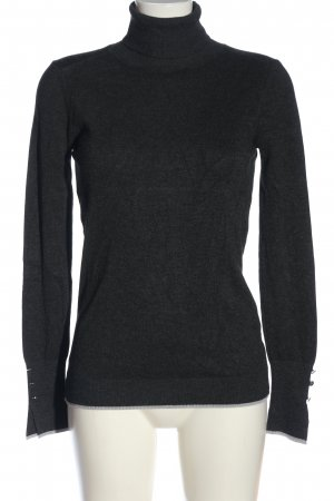 Colins Turtleneck Sweater light grey flecked casual look
