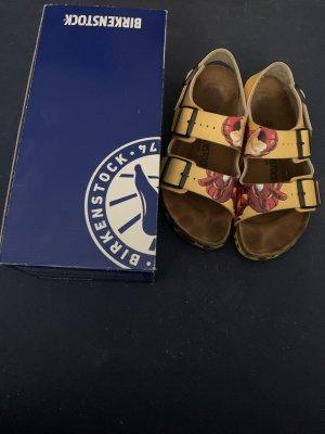 Birkenstock Outdoor Sandals yellow-red