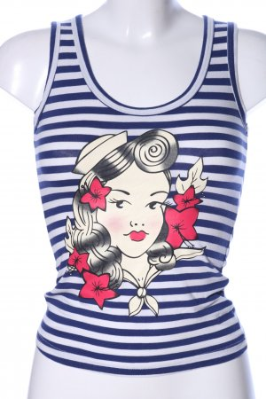 Collectif Top basic Stampa a tema stile casual