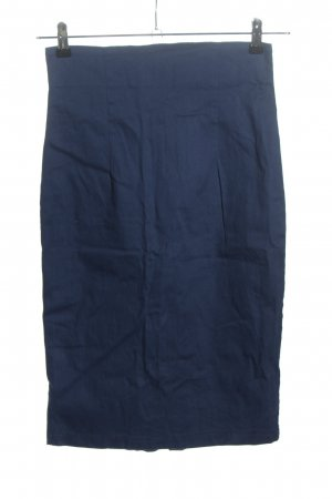 Collectif Gonna a tubino blu stile casual