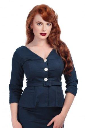 "Collectif Bluse Jacke ""Charlotte"" pinup vintage retro Rockabilly sailor"