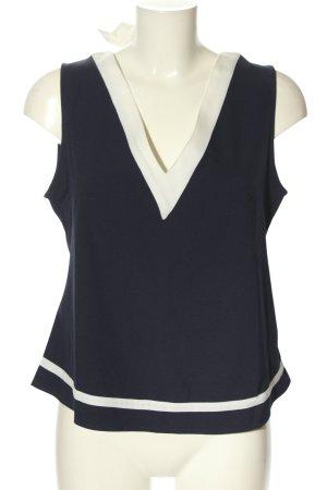 Collectif Blusa blu-bianco stile casual