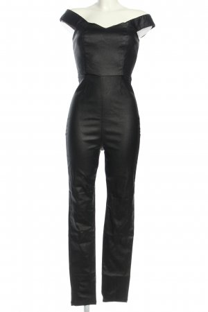 Collectif Jumpsuit schwarz Party-Look