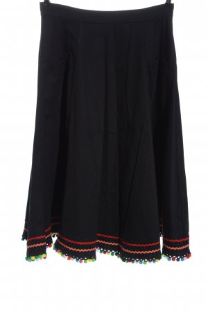 Collectif Midi Skirt multicolored casual look