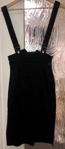 Collectif Overgooier overall rok zwart