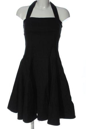 Collectif schulterfreies Kleid schwarz Casual-Look