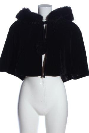 Collectif Vintage Capa negro look casual