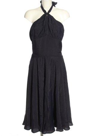 Collectif Vintage Halter Dress dark blue casual look