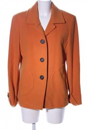 Collection Pea Jacket light orange business style