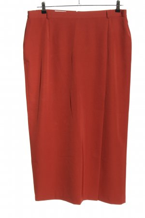 Collection Chalice Pleated Trousers red elegant