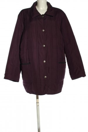 Collection Chalice Übergangsjacke lila Steppmuster Casual-Look