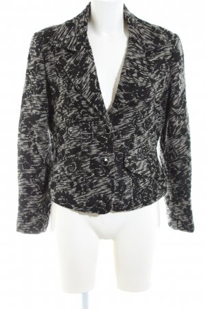 Collection Short Blazer black-cream casual look