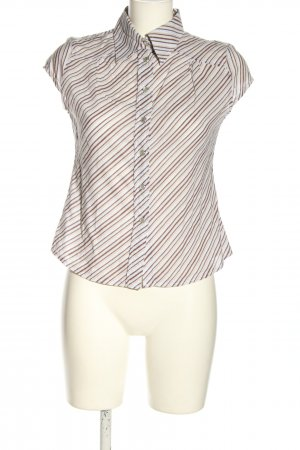 Collection Kurzarm-Bluse Streifenmuster Casual-Look
