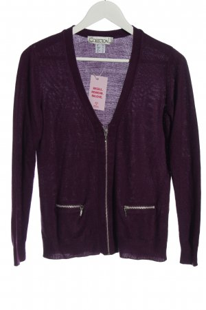 Collection L Cardigan lila Casual-Look