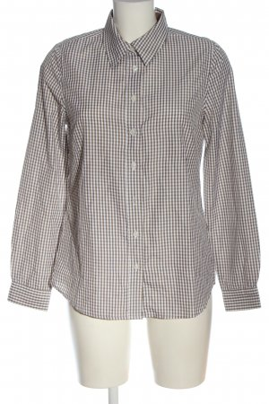 Collection L Lumberjack Shirt brown-white allover print business style