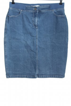 Collection L Denim Skirt blue casual look